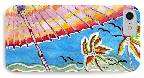 Summer Breezes IPhone Case by Connie Valasco