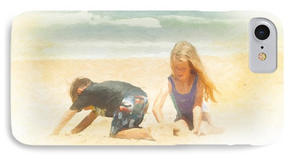 IPhone Case featuring the painting Summer by Chris Armytage