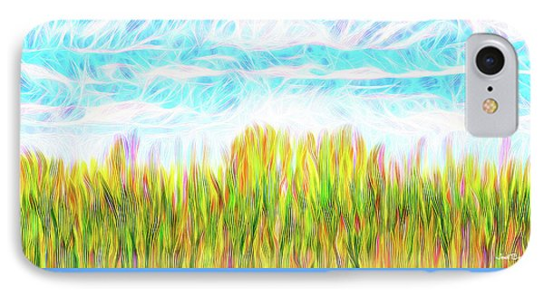 Summer Clouds Streaming IPhone Case by Joel Bruce Wallach