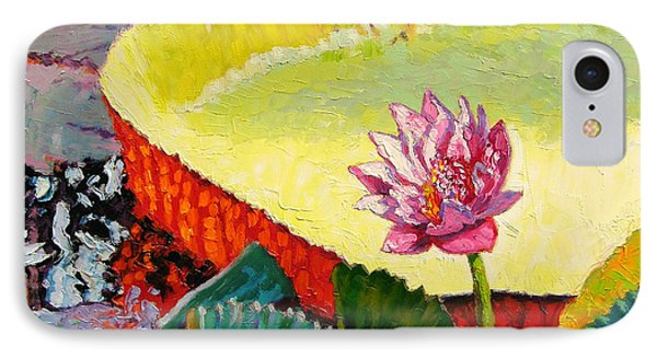 Summer Colors On The Pond Phone Case by John Lautermilch
