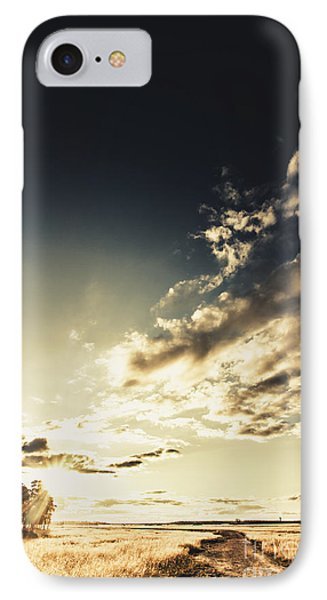Summer Country Backroad IPhone Case by Jorgo Photography - Wall Art Gallery