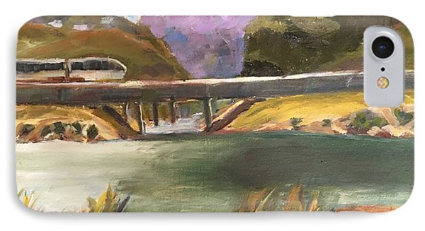 IPhone Case featuring the painting Summer Day At Carlsbad by MaryAnne Ardito