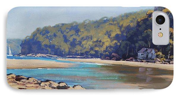 Summer Day Patonga Nsw Australia IPhone Case by Graham Gercken