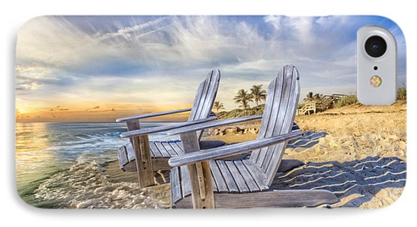 Summer Dreaming IPhone Case by Debra and Dave Vanderlaan