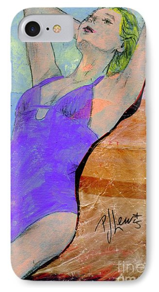 Summer Dreaming IPhone Case by P J Lewis