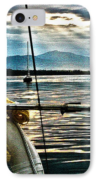 Summer Eve At Sea IPhone Case by Alicia Kent