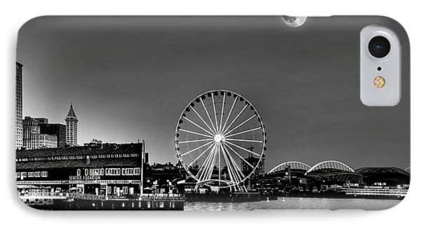 Summer Eve On The Seattle Waterfront IPhone Case