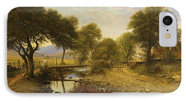Summer Evening At Penlester IPhone Case