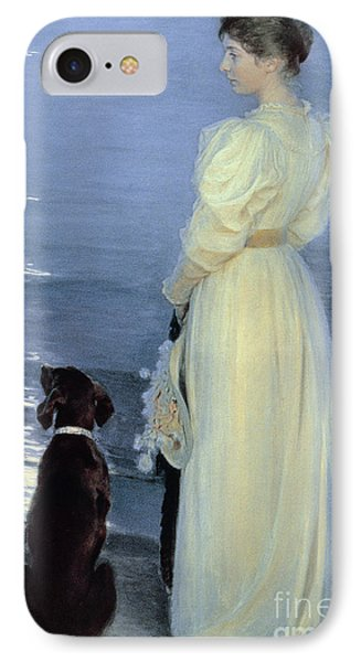 Summer Evening At Skagen Phone Case by Peder Severin Kroyer