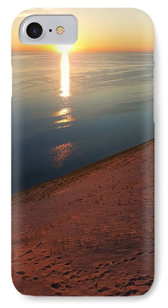 Summer Evening At Sleeping Bear Dunes 02 IPhone Case by William Slider