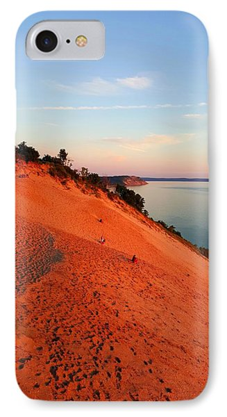 Summer Evening At Sleeping Bear Dunes IPhone Case by William Slider