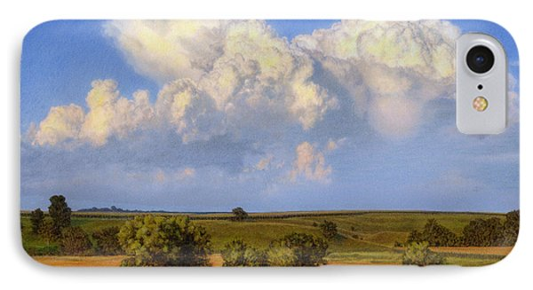 Summer Evening Formations IPhone Case by Bruce Morrison