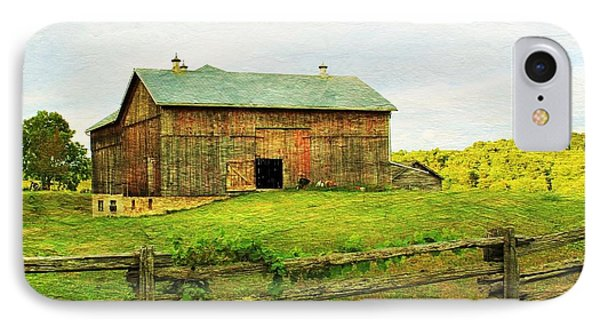Summer Farm Moment IPhone Case by Anthony Djordjevic