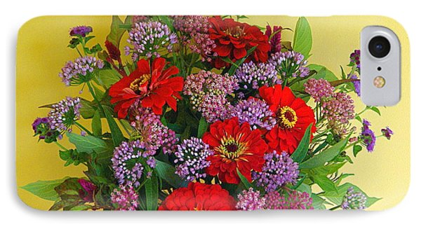 IPhone Case featuring the photograph Summer Flower Bouquet by Byron Varvarigos