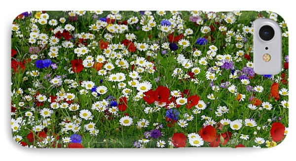 Summer Flowers IPhone Case by James Johnson