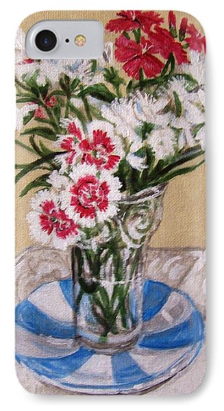IPhone Case featuring the painting Summer Flowers by Laura Aceto