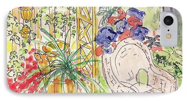 Summer Garden IPhone Case by Barbara Anna Knauf