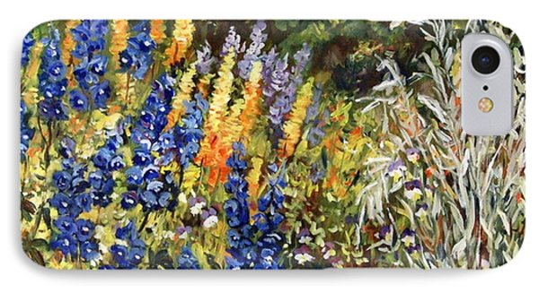Summer Garden IPhone Case by Alexandra Maria Ethlyn Cheshire