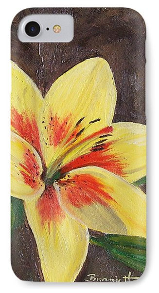 IPhone Case featuring the painting Summer Glow by Bonnie Heather