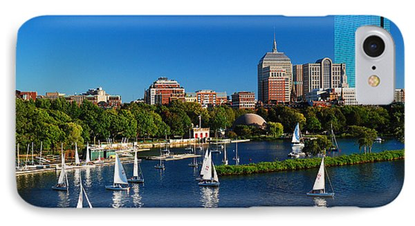 Summer In Boston IPhone Case by James Kirkikis