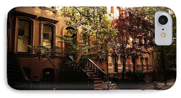 Summer In New York City - Greenwich Village IPhone Case by Vivienne Gucwa