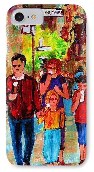 Summer In The City Phone Case by Carole Spandau