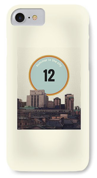 IPhone Case featuring the photograph Summer In The City by Phil Perkins