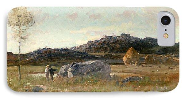 Summer Landscape Phone Case by Luigi Loir
