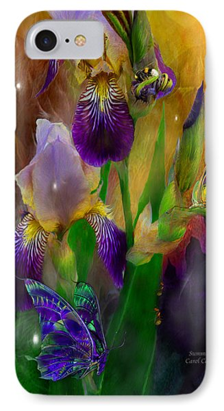 Summer Life IPhone Case by Carol Cavalaris