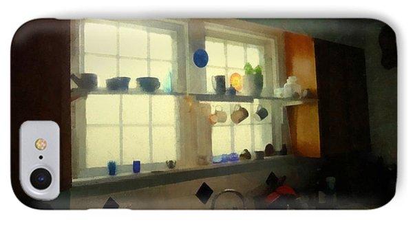 Summer Light In The Kitchen Phone Case by RC deWinter