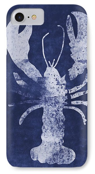 Summer Lobster- Art By Linda Woods IPhone Case by Linda Woods