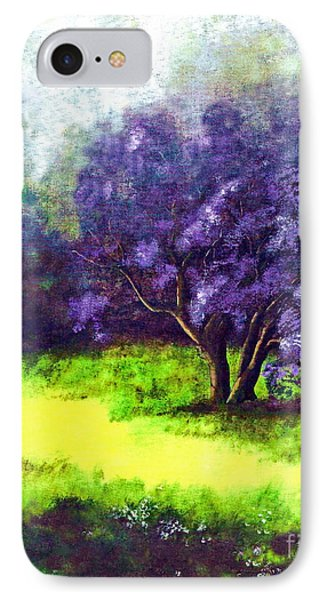 IPhone Case featuring the painting Summer Mist by Patricia Griffin Brett