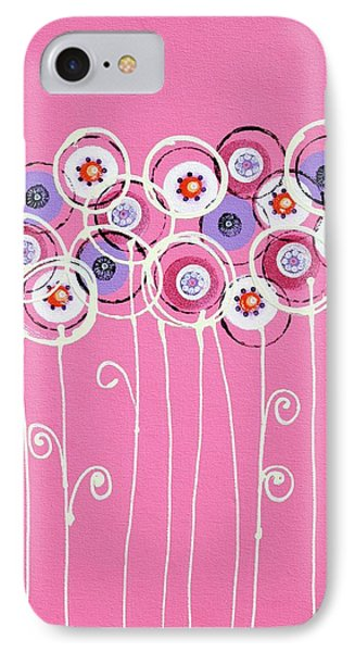 Summer Of Love I IPhone Case by Graciela Bello