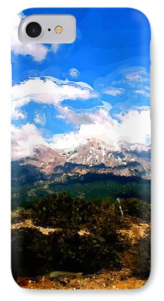 Summer On Mt. Shasta IPhone Case by Methune Hively