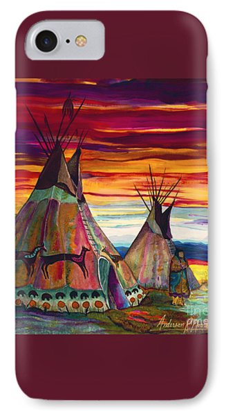 Summer On The Plains Phone Case by Anderson R Moore