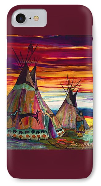 Summer On The Plains IPhone Case