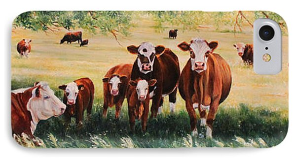 Summer Pastures IPhone Case by Toni Grote