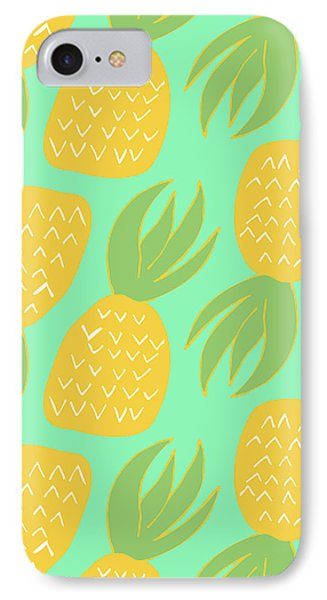 Summer Pineapples IPhone 7 Case