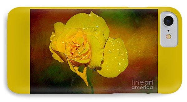 Summer Rose By Kaye Menner IPhone Case