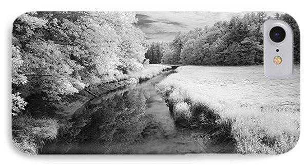 Summer Salt Marsh - Wells Maine IPhone Case by Luke Moore