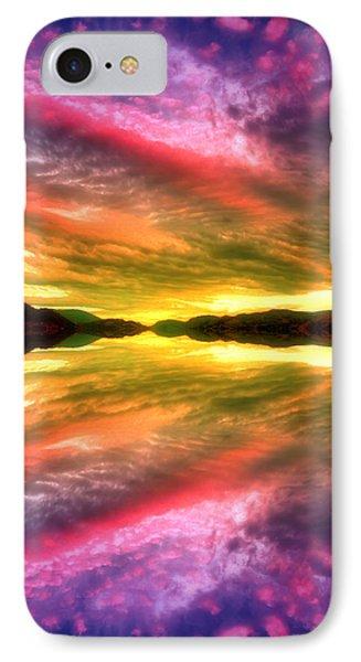 Summer Skies At Skaha IPhone Case by Tara Turner