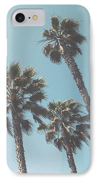 Summer Sky- By Linda Woods IPhone 7 Case by Linda Woods