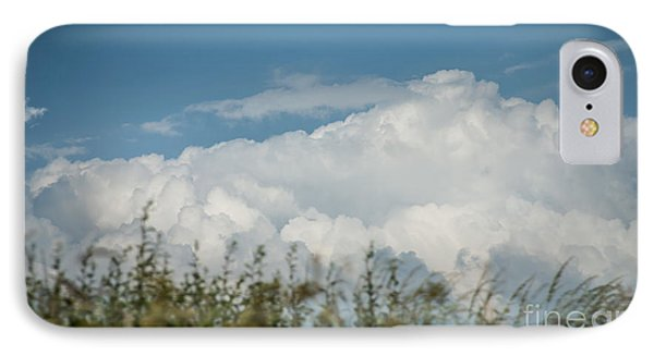 IPhone Case featuring the photograph Summer Sky by Jan Bickerton