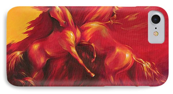 IPhone Case featuring the painting Summer Solstice by Dina Dargo