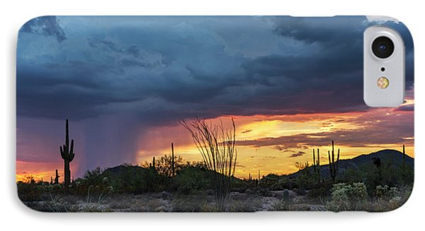 Sonoran Summer Sunset  IPhone Case