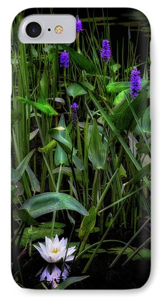 IPhone 7 Case featuring the photograph Summer Swamp 2017 by Bill Wakeley
