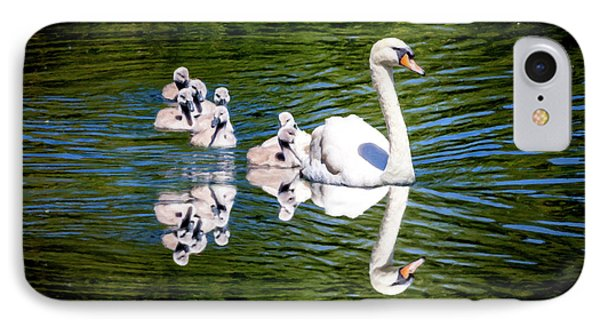 Summer Swans IPhone Case