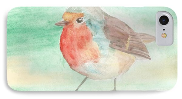 Summer Time Robin Phone Case by Isabel Proffit