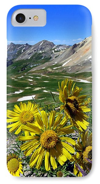 Summer Tundra IPhone 7 Case by Karen Shackles