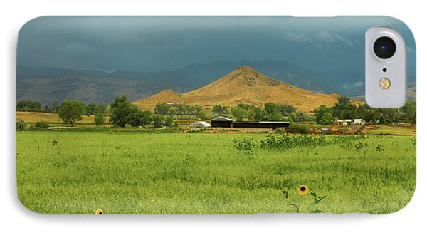 IPhone Case featuring the photograph Summer View Of  Hay Stack Mountain by James BO Insogna